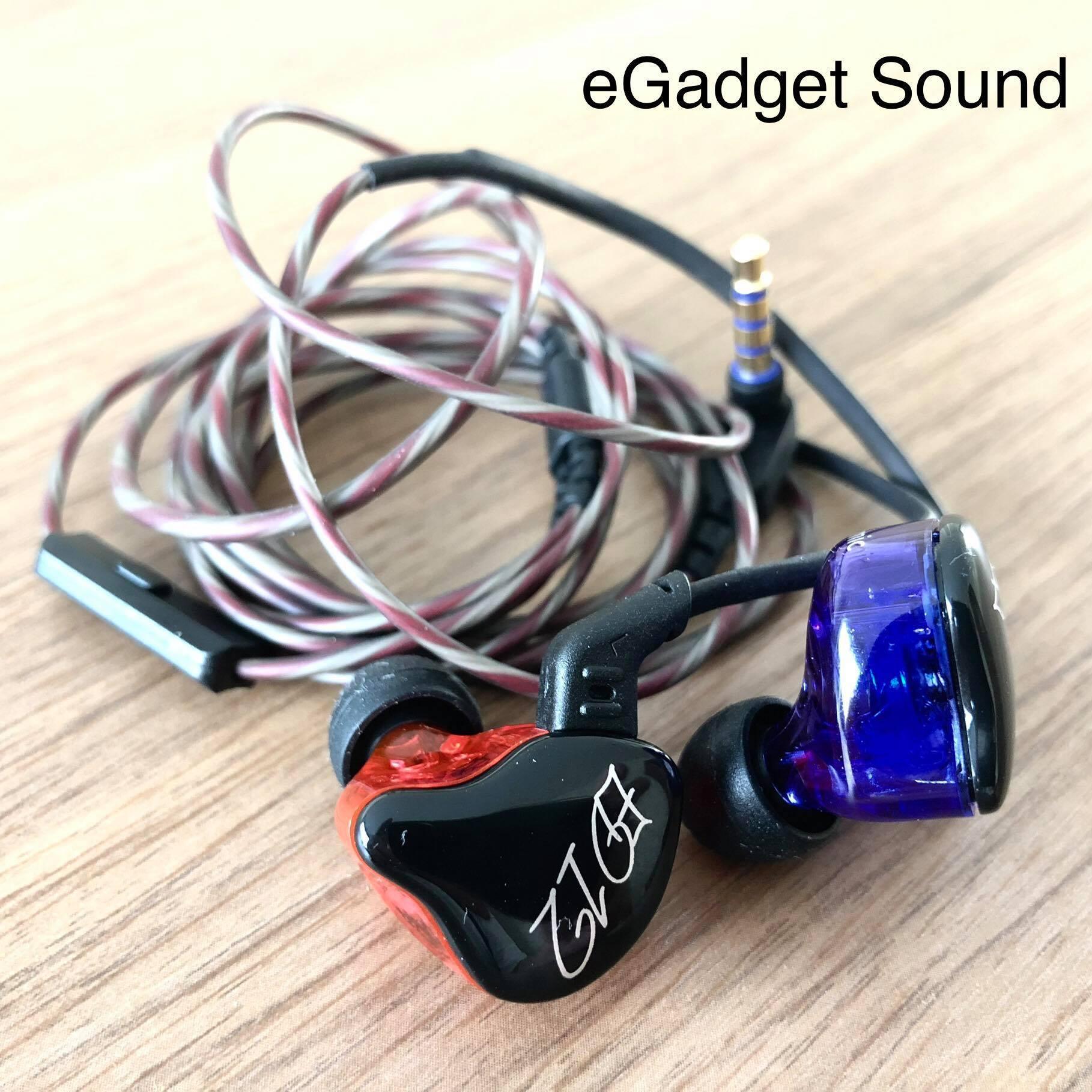 KZ รุ่น ED12 (มีไมค์) หูฟังไดนามิค ไดรเวอร์ ถอดเปลี่ยนสายได้ ประกัน 6 เดือน รูปทรง in ear monitor (IME) เสียงดี มิติครบ KZ ED12 Dynamic Driver Microphone