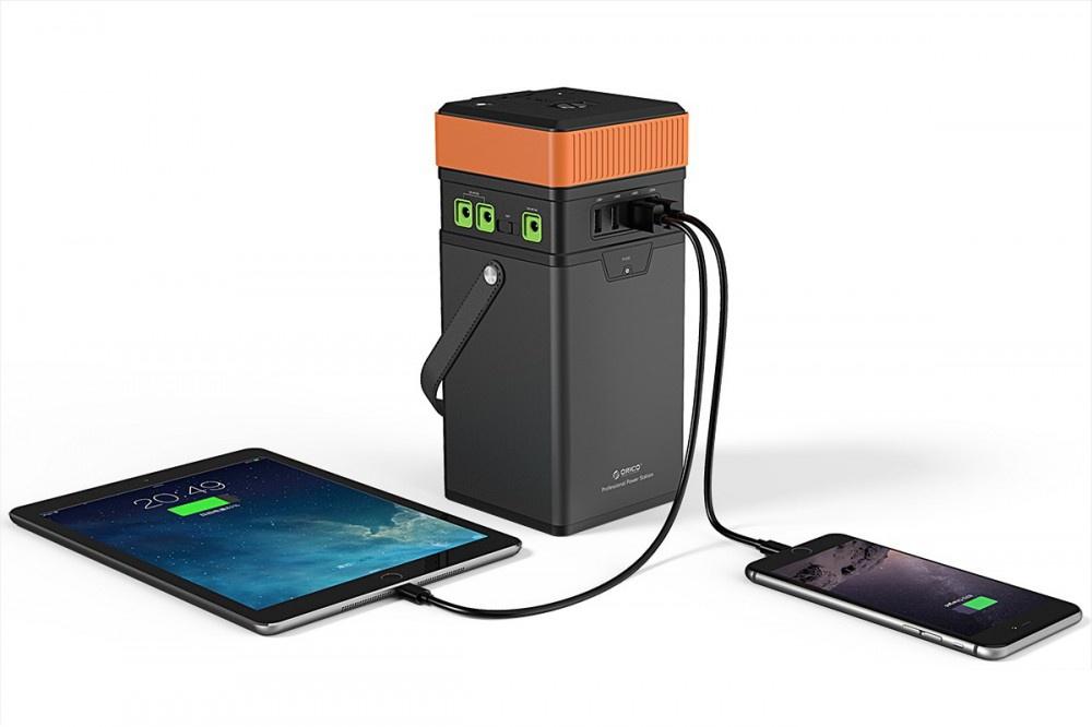 ORICO 100W 100,000mAh : 3 Charging System (AC 220V, DC, QC2.0) Powerbank ชาร์จไฟได้3ระบบ AC 220V, DC, USB QC2.0 พาวเวอร์แบงค์ขนาด 100000 mAh