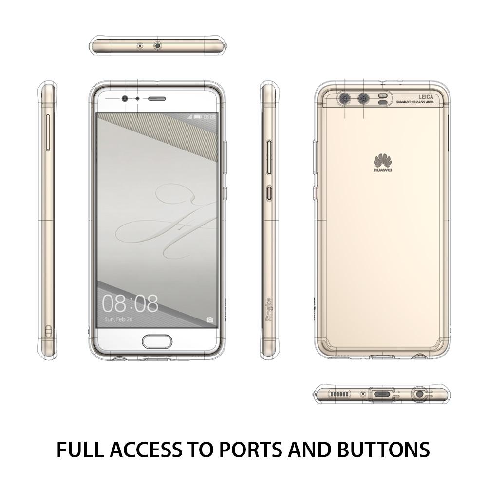 Ringke Fusion Huawei P10 Plus เคสใสกันกระแทก ผ่านการทดสอบการกระแทกระดับ Military Grade ด้วยเทคโนโลยีกระจายแรงกระแทก (Crytral Clear)