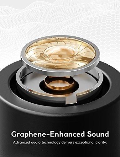 Zolo Liberty (ANKER) หูฟังบลูทูธ 4.2 ทัสกรีน กันน้ำ กันเหงื่อ IPX5 True wireless Bluetooth Touch Screen IPX5 Waterproof (Black)