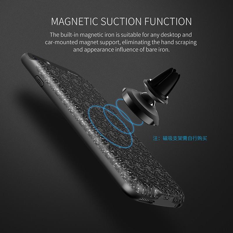 BASEUS เคสแบตสำรอง iPhone6Plus 5.5' ความจุสูง7300mAh แบบบางพิเศษ Ultrathin สีดำ