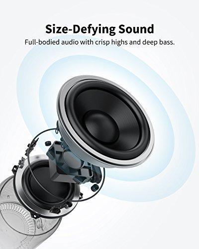 Anker SoundCore Mini 2 (6W) ,ลำโพงบลูทูธแบบพกพาพร้อมแบตเตอรี่ที่ใช้นาน 15 ชั่วโมง,