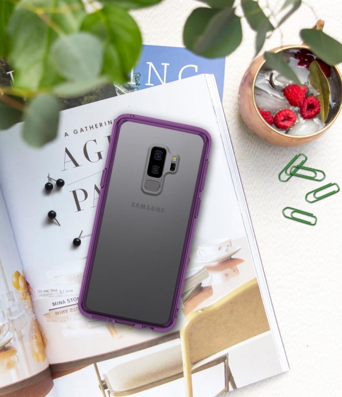 Ringke Fusion Samsung Galaxy S9Plus เคสใสกันกระแทก ผ่านการทดสอบการกระแทกระดับ Military Grade ด้วยเทคโนโลยีกระจายแรงกระแทก (Crytral Clear)