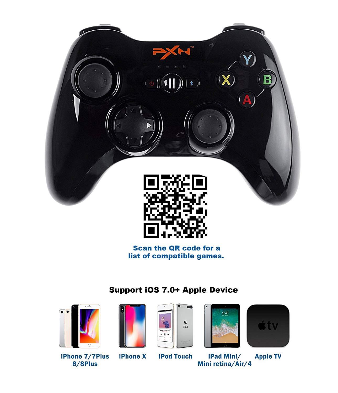 จอยเกมมือถือ PXN 6603 MFI Certified จอยไอโฟน จอยมือถือสำหรับ ios โดยเฉพาะ