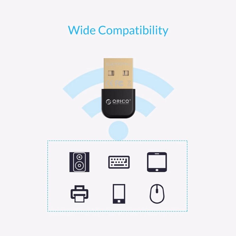 USB Bluetooth Orico บลูทูธ4.0 CSR8510 ตัวรับ / ตัวส่ง สัญญาณ Bluetooth จาก PC / Notebook