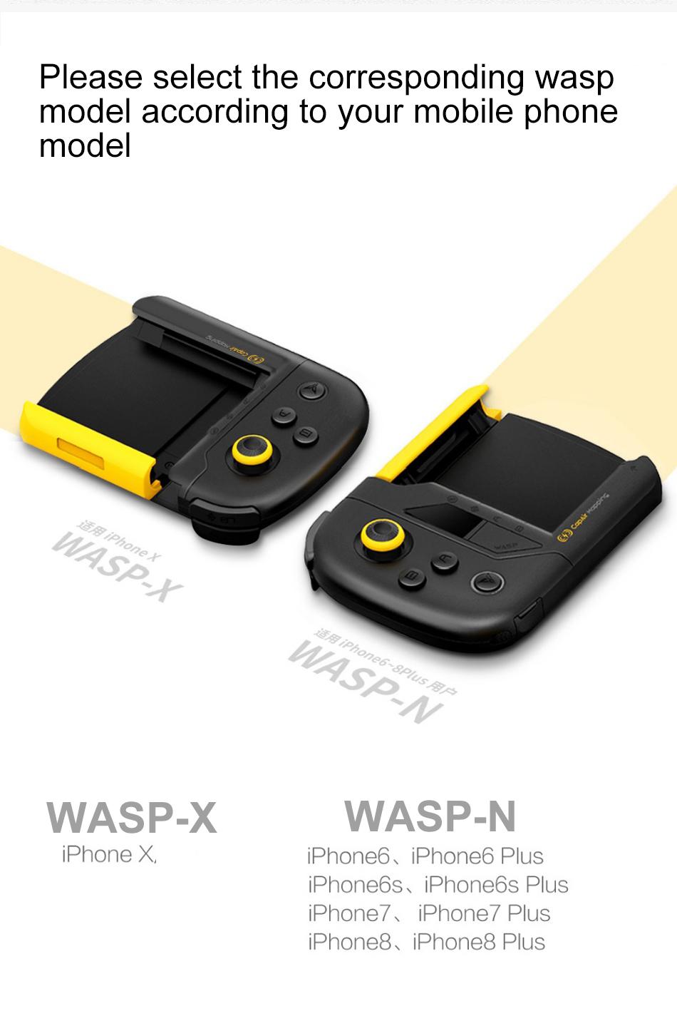 จอยเกมส์ iPhone X XS XS Max Flydigi (Air Mapping) เล่น PUBG ROV ROS ไม่ต้องลง APP