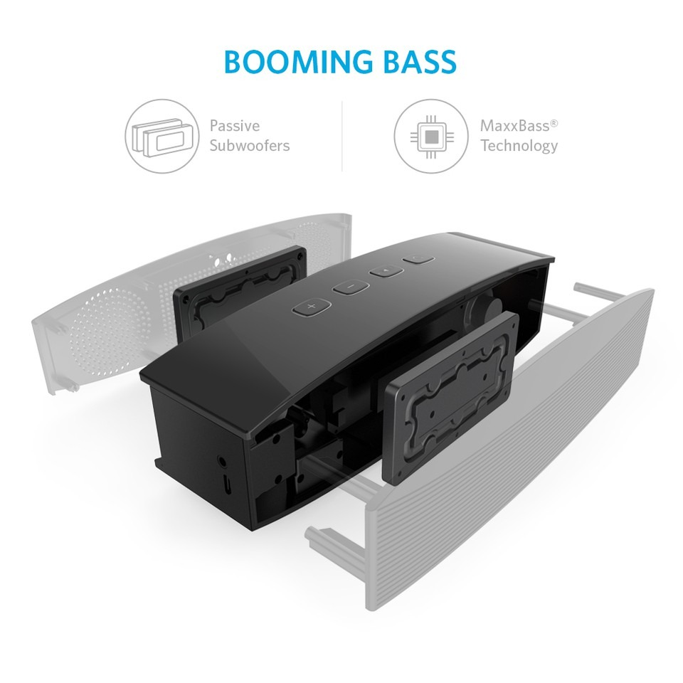 Anker Premium Dual Driver (10w+10w) ลำโพง Bluetooth บลูทูธ ลำโพงพกพา